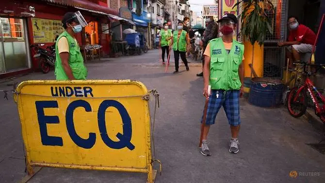 Philippines locks down capital and nearby provinces on Holy Week due to surged COVID-19 cases