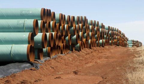 Energy corporation asks $15 billion from Biden administration for pipeline project revocation