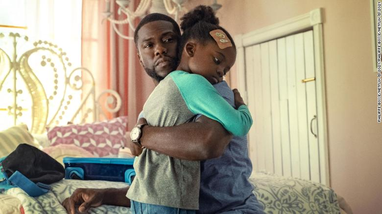 Kevin Hart reveals his serious side on Netflix movie Fatherhood